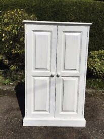 White Painted Cupboard with shelves
