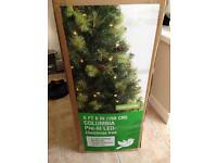 Columbia pre lit Christmas tree