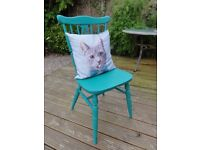 Vintage Chair Hand Painted in Annie Sloan FLORENCE