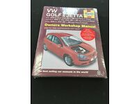 Haynes Manual VW Golf and Jetta