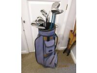 Ladies Set Of Clubs With Bag