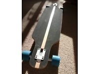 Crane longboard, hardly used, bought for decoration