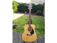Yamaha f310 acoustic guitar hardly played