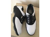 Mens Footjoy AQL Golf Shoes - Size 9 - Like New Only Worn Twice - Worth £65
