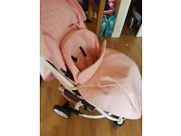 My Babbiie stroller pink