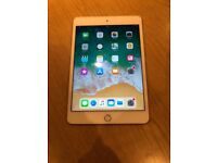 iPad mini 4 64gb WiFi. Gold. Very small scrape on side(see last pic) £190 No offers. CAN DELIVER