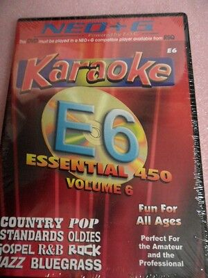 Chartbuster Karaoke - RSQ NEO+G Player ONLY Vol 6 450 Songs - NEO+G DVD (Neo+g Karaoke)