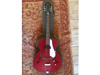 Epiphone Century 'Inspired by 1966' - Hollow Bodied Electric Guitar - Cherry Red