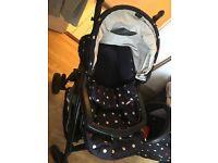 Mamas and papas pushchair & car seat
