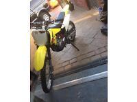 Drz 125l 2012 (not cr crf kx kxf ktm sx yz rm)