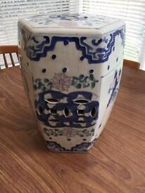 Chinese style pot seat or stand