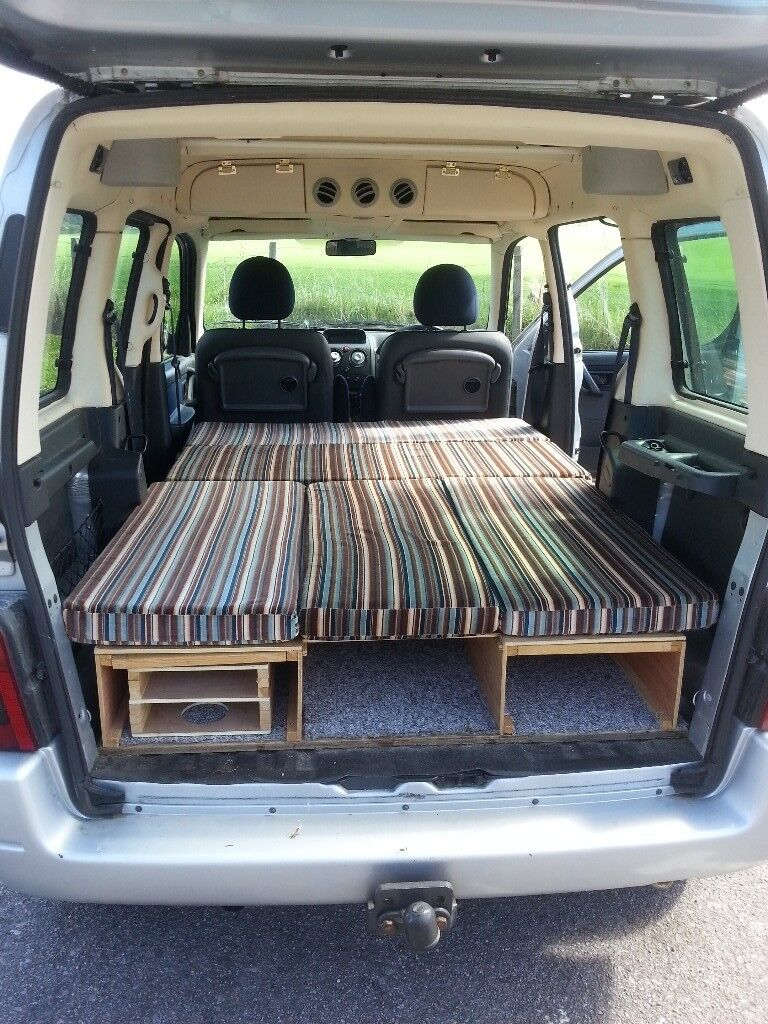 berlingo multispace day van camper conversion in forres. Black Bedroom Furniture Sets. Home Design Ideas