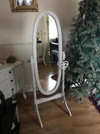 Stunning freestanding bedroom mirror (sold)