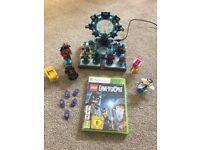 Xbox 360 Lego dimensions disc, gateway, collectibles and the adventure time bundle