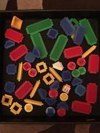 Stickle Bricks asstd bundle. Inc wheels & characters.