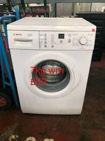 Bosch 7kg washing machine free delivery in derby