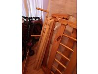 Small Double Wooden Bed Frame (4ft Double)