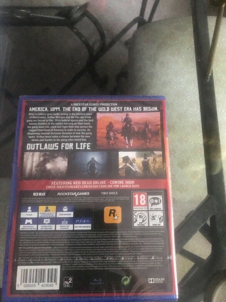 Brand new sealed copy red redemption 2 ps4 £35 | in Long Eaton,  Nottinghamshire | Gumtree