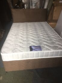 New 4ft6 double bed and headboard free delivery