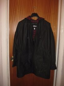 UNISEX Totes Black Waterproof/Windproof lined Jacket – Size XL