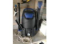 Koi pond equipment air pumps vacuume and more