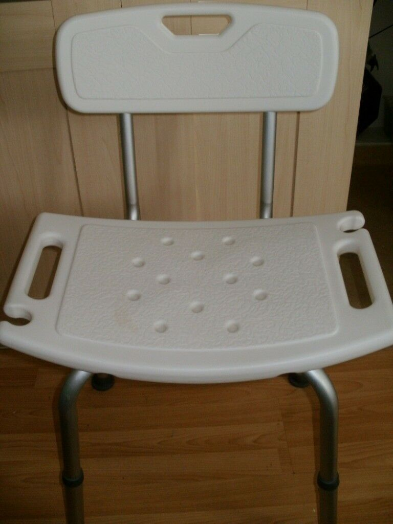 Disabled persons shower chair seat disability aid in excellent ...