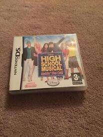 Nintendo Ds high school musical game