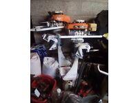 Two outboard motors mac3 , 5hp outboard motor