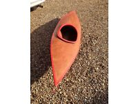 Wood Canoe/Kayak suitable for child 8 - 12 years.