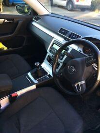 VW passat black