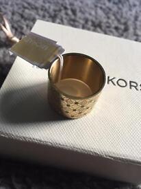 Michael Kors bracelet & diamanté ring