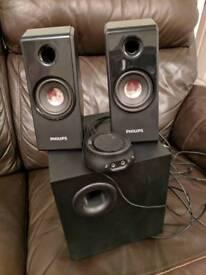 Philips 2.1 sound sistem