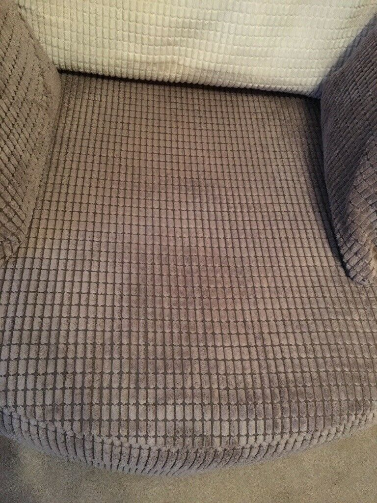 Sofa With Large Round Swivel Chair And Half Moon Foot Stool In Borrowstounness Falkirk Gumtree