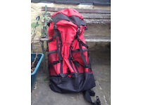 Beautiful Red Rucksack