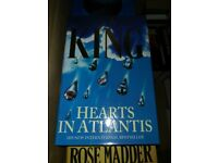 Stephen King Hardback Book Hearts in Atlantis - Perfect Condition