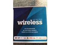 Wireless festival Friday/Saturday/Sunday ticket