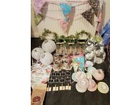 Wedding job lot stuff for sale gumtree wedding decorations job lot vintage rustic shabby chic barn quirky collection junglespirit Images