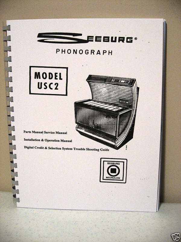 Seeburg Model USC2 Jukebox Manual
