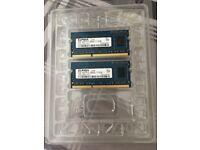 2 x 2GB RAM For MacBook 2012
