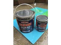 Ronseal Stain Guard Clear Coat 2.5 litre +750ml
