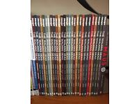 Walking Dead comics 1-27