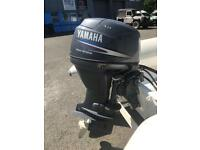 Yamaha 30HP 4 Four Stroke E/Start Power Trim/Tilt with Remotes Rib Boat Outboard Engine