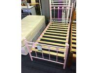 Girls Pink Single Bed Base