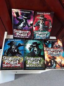 Skullduggery Books for Age 9+