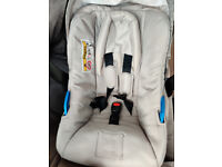 Baby Car seat mothercare 0+