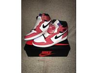 buy online b4e1a 0725d Nike Air Jordan 1 High Spider-Man Origin Story