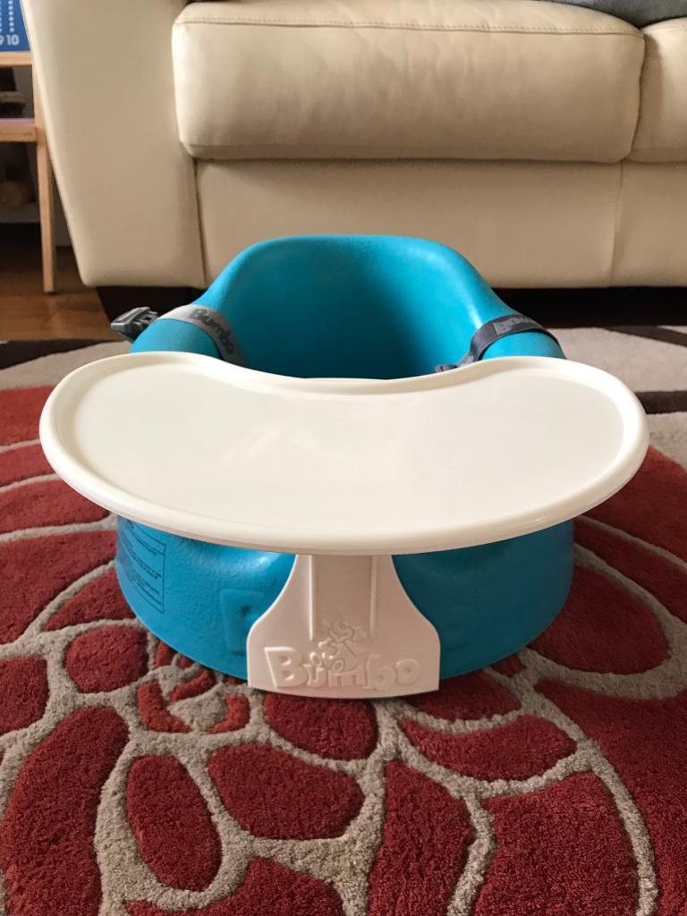 Bumboin Hengoed, CaerphillyGumtree - Blue bumbo chair with removable tray. Excellent condition. Supports babies while sitting
