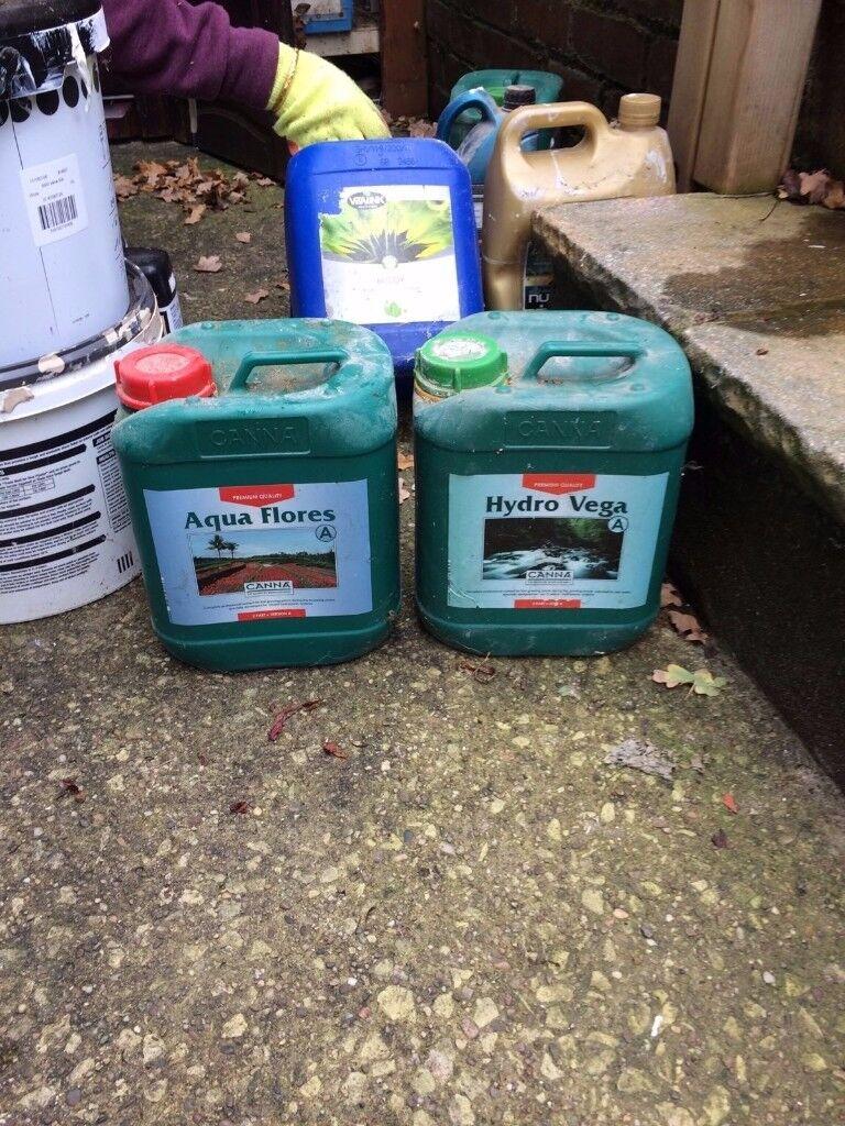 Aqua Flores and Hydro Vega 10 Ltr - Plant Food