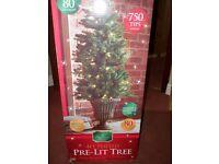 4ft pre-lit christmas tree