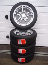 **BRAND NEW** RIPSPEED 15 inch SPORT ALLOYS & TYRES (195/50 R15) Suit any small car as MULTIFIT!!